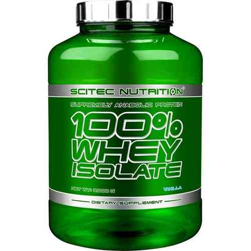 100 WHEY ISOLATE 2000 g Scitec Nutrition