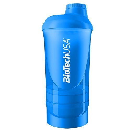 Shaker 600ml + Compartiments - Biotech USA