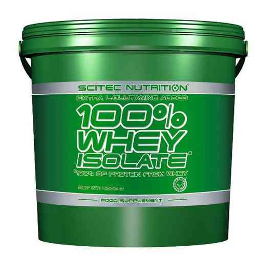 100% Whey Isolate 4000g - Scitec Nutrition
