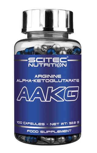 AAKG Argine Alpha-Cétoglutarate 100caps Scitec Nutrition