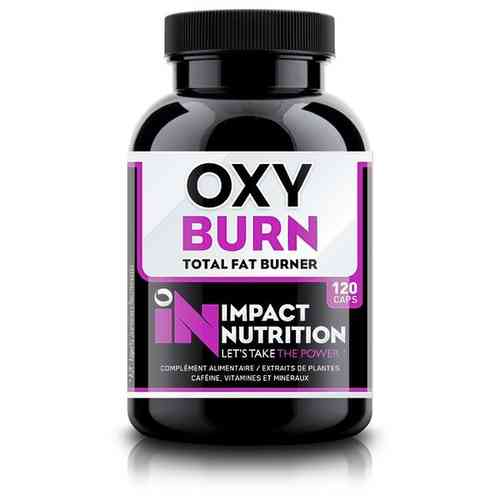 Oxy Burn 120caps Impact Nutrition