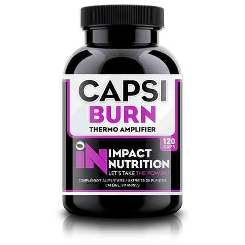 Capsi Burn 120caps Impact Nutrition