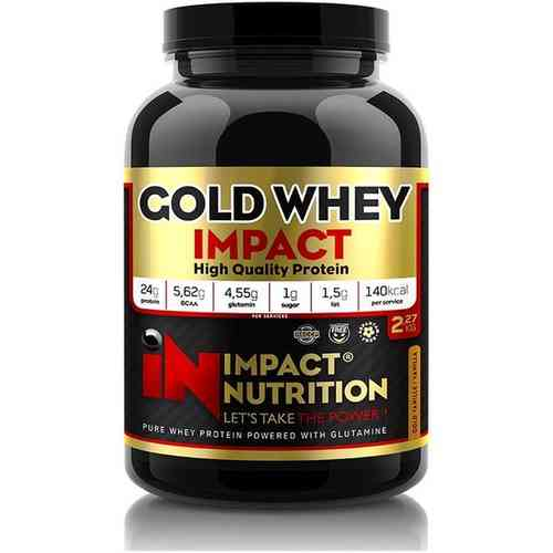 Gold Whey 2kg Impact Nutrition