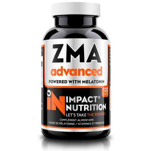 ZMA Advanced 120caps Impact Nutrition