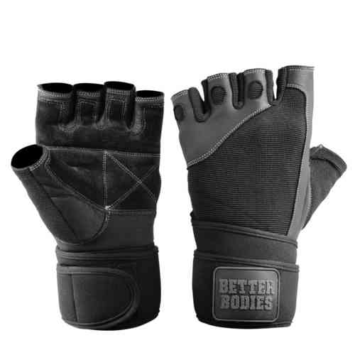 Gants Pro Wrist Wrap Gloves Better Bodies
