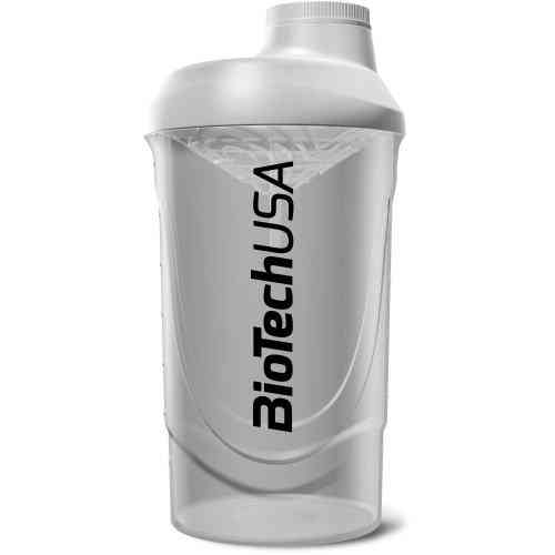 Shaker Wave Blanc Transparent 700ml Biotech USA