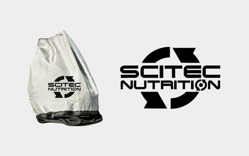 Back Pack Silver Scitec