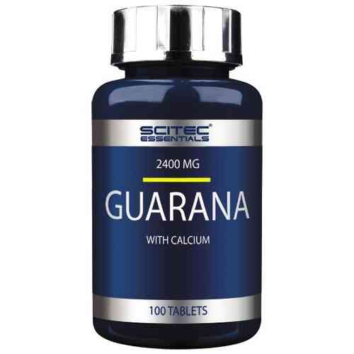 Guarana 100 Caps - Scitec Essentials