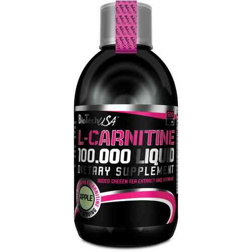 L-Carnitine 100.000 500ml Biotech USA