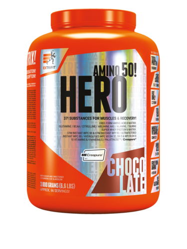 Hero 3000g Extrifit Lean Gainer