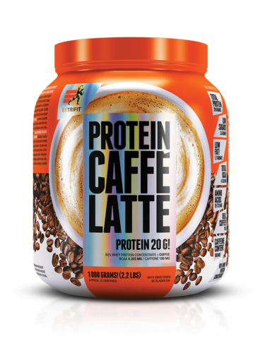 Caffé Latte Whey Protein 80 1000g Extrifit