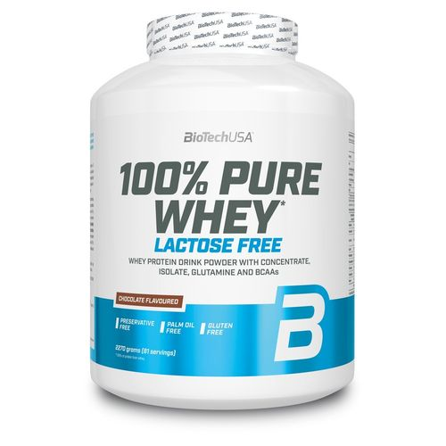 100% Pure Whey sans lactose 2270 g Biotech USA
