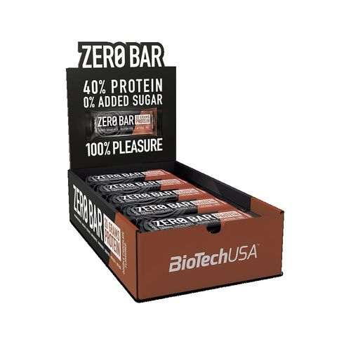 Zero Bar 20x50g Biotech USA