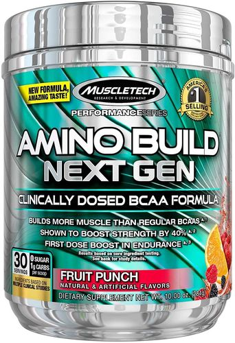 Amino Build Next Gen Energized 284 g Muscletech